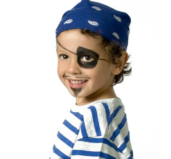 Disfraces de pirata de niño en los Carnavales