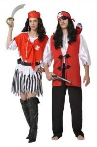 Disfraces de Piratas del caribe