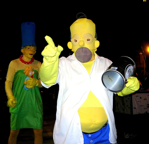 Disfraces De La Familia Simpson Disfraces 10 - Disfraces-simpsons