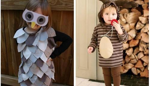 Disfraces infantiles de poquísimo presupuesto