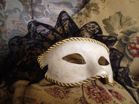 Como hacer una máscara veneciana