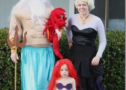 Familias muy animadas
