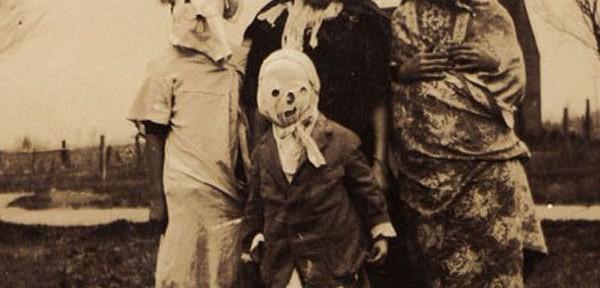 Antiguos Halloween… ¡Estos sí que daban miedo!