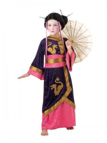 Elaborar fácilmente un disfraz de geisha